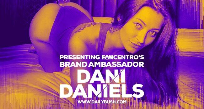 Dani Daniels New ModelCentro/FanCentro Brand Ambassador