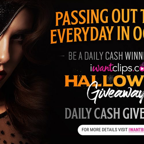 iWantClips Halloween Daily Giveaway – October, 2018