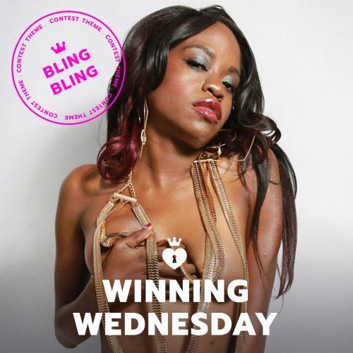ManyVids #WinningWednesday 9/12/18: Bling Bling Themed