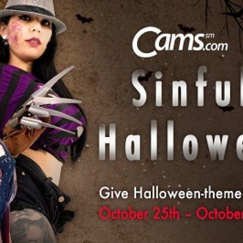 Cams.com / Streamray Halloween Contest: Oct 25-31, 2018
