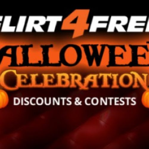 Flirt4Free 2018 Halloween Contests and Promotions