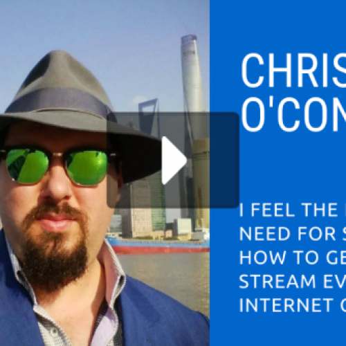 Online Cam Summit: Chris O'Connell (SendFaster / MojoHost)
