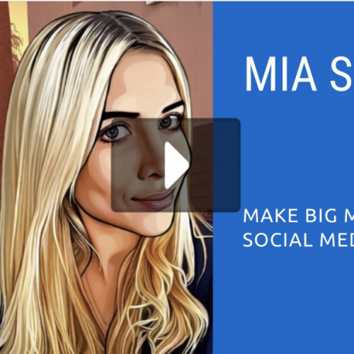 Online Cam Summit: Mia S (FanCentro)