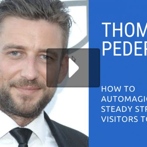 Online Cam Summit: Thomas Pedersen (DivaTraffic)