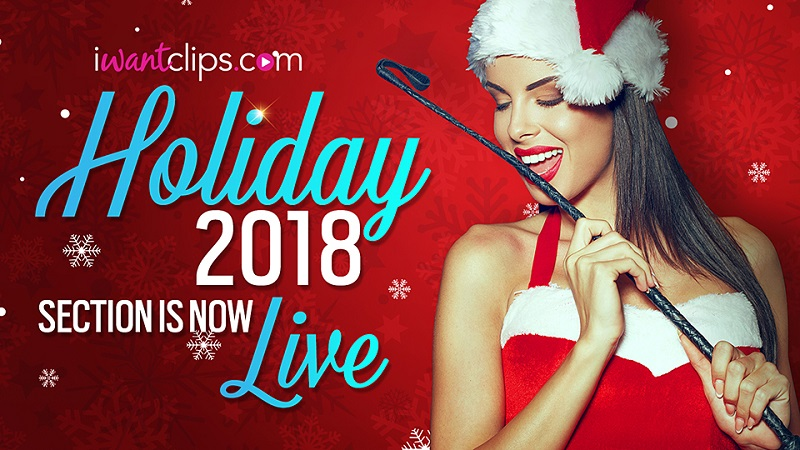 iWantClips 2018 Holiday-Themed Promotion