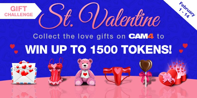 CAM4 2019 Valentine's Themed Contest