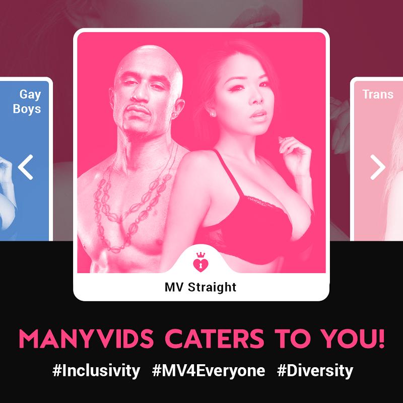 ManyVids MV Inclusivity: Straight / Gay / Trans All