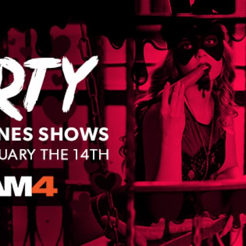 Valentines Day Themed Shows On CAM4: Feb 9-14, 2019