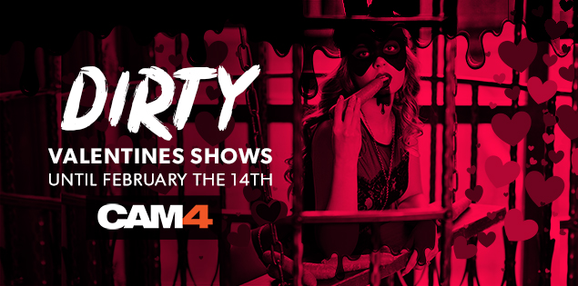 Valentines Day Themed Shows On CAM4