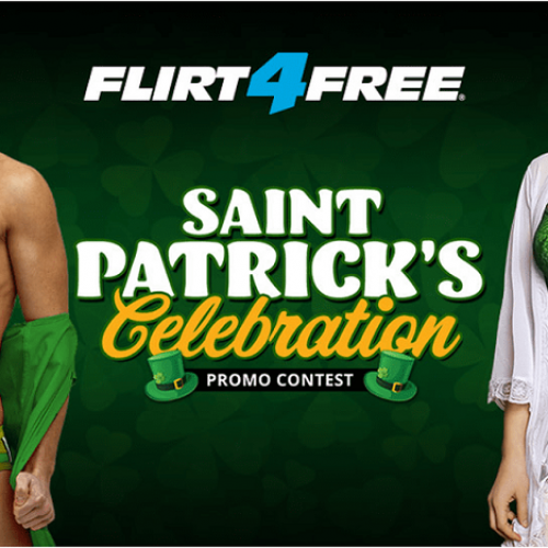 FLirt4Free 2019 St Paddy's Day Contest – March 14-17