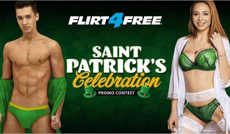 Flirt4Free 2019 St Patrick's Day Contest