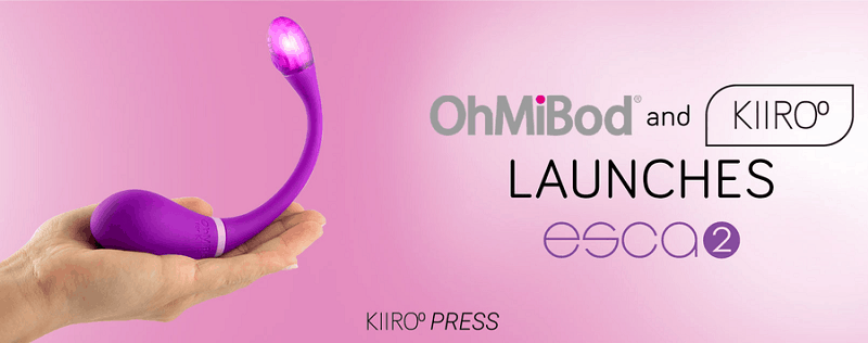 Kiiroo / OhMiBod Release The Esca 2