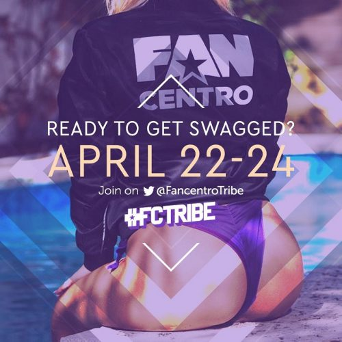 FanCentro Swag Giveaway: April 22-24, 2019