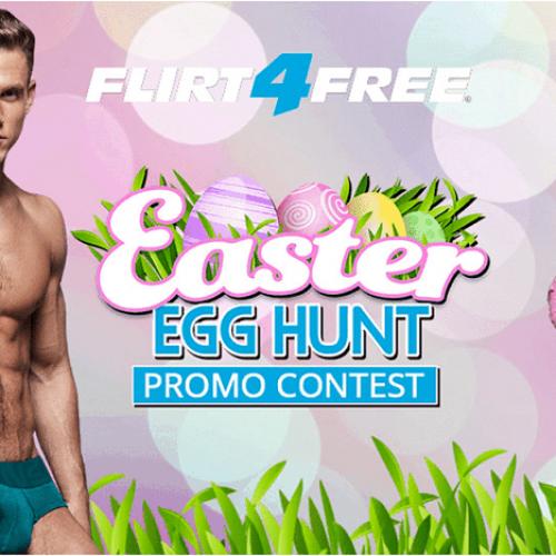 Flirt4Free Easter Egg Hunt: April 18-21, 2019