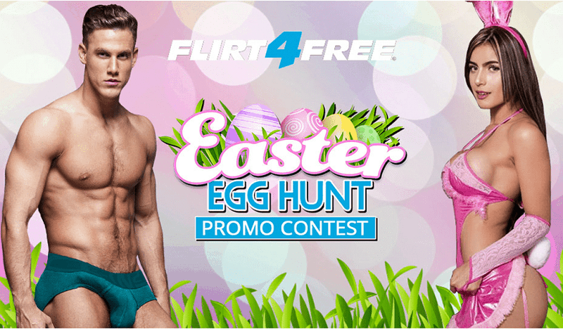 Flirt4Free 2019 Easter Egg Hunt