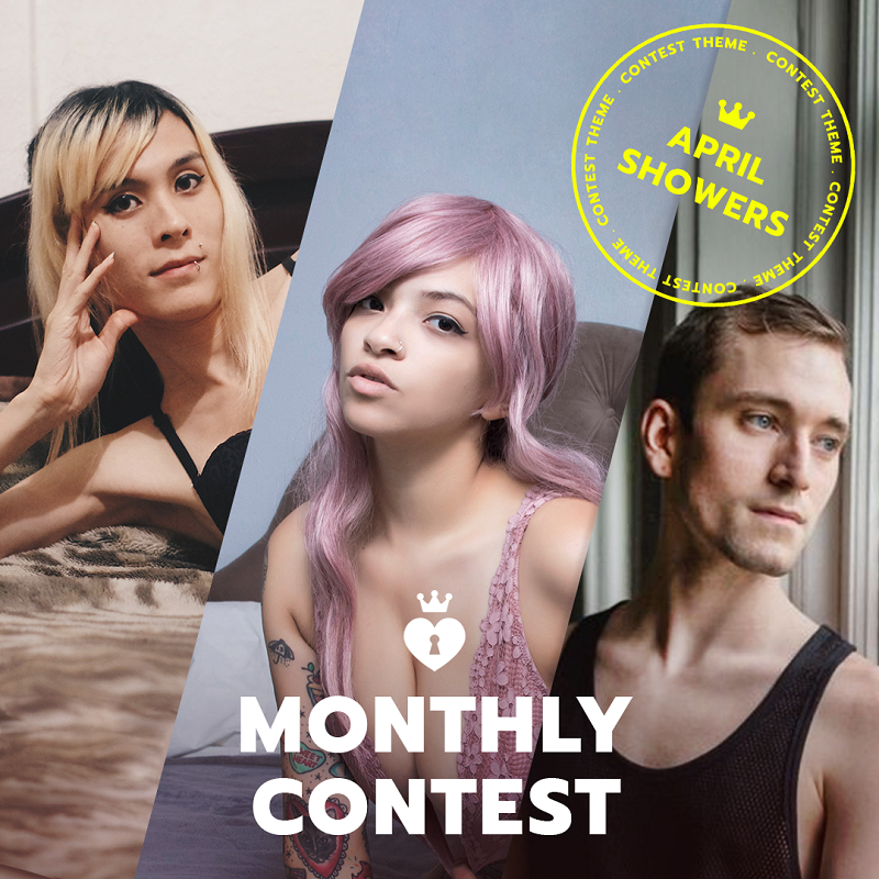 ManyVids 2019 Spring Showers Contest