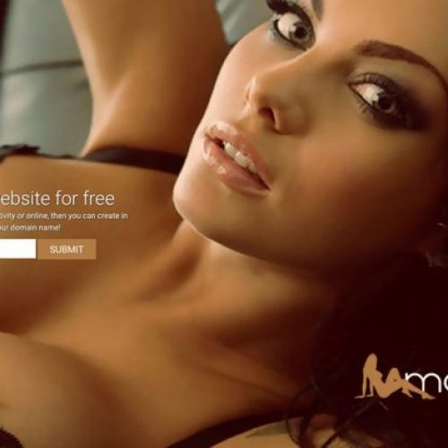ModelCam: 1-Page Websites Powered by XLoveCam
